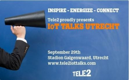 M2M Services partner Tele2 IoT Talks